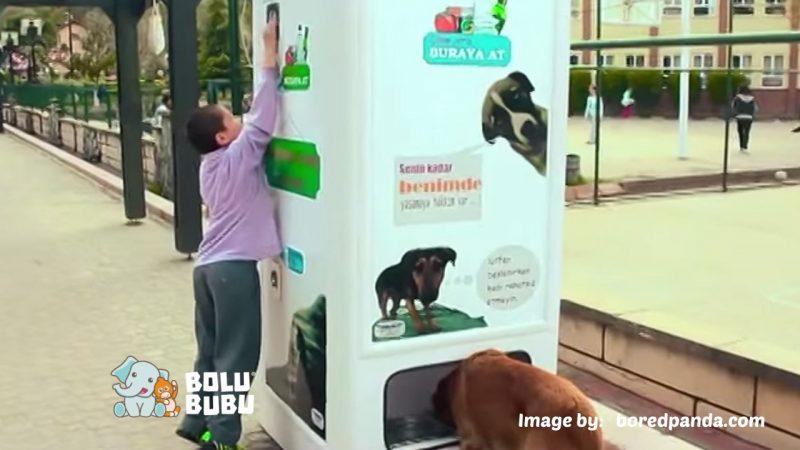 vending machine untuk hewan liar
