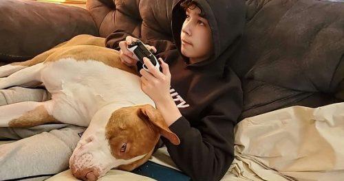 anjing dan tuannya